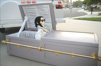Elviscoffin